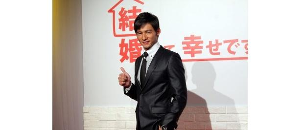 台湾ドラマ「結婚って、幸せですか」の主演を務めるウェン・シェンハオ