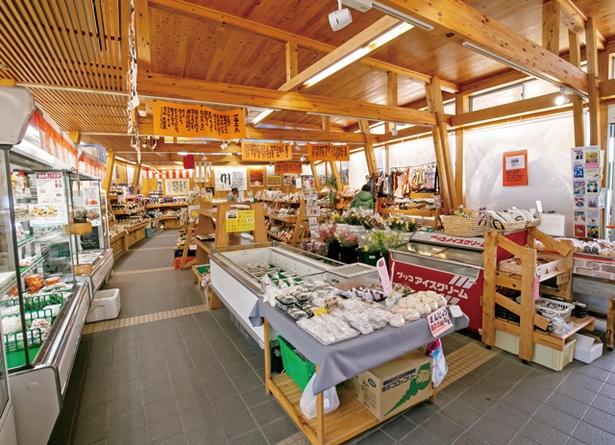 橋の駅ドロンパ / 弁当や総菜から地元の伝統工芸品まで、幅広く販売