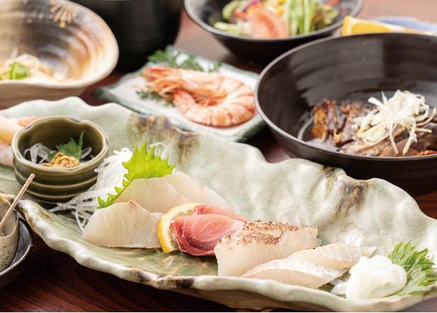ドライブイン大浦 / 「磯定食」(1600円・税込)