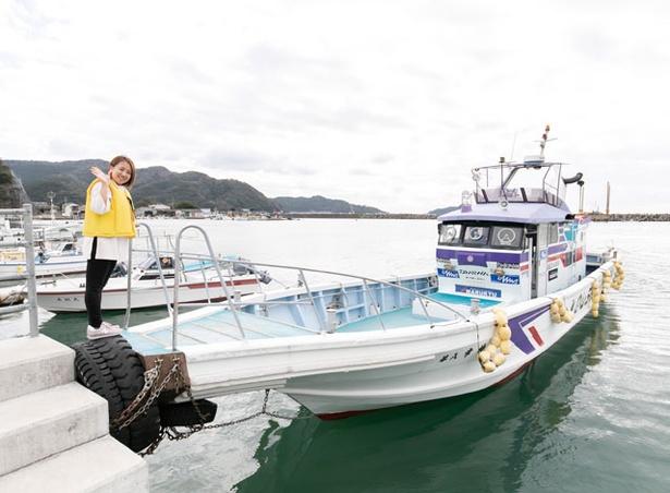 北浦臨海パーク 観光案内所 / クルージングコースは、最大12人乗れる