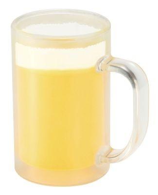 冷たい飲み物に反応してジョッキの色が変わる仕組み
