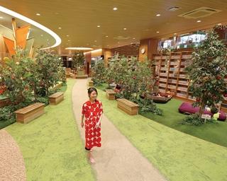 緑いっぱいの空間で心も体もリセット。名古屋のおこもり系スパ銭