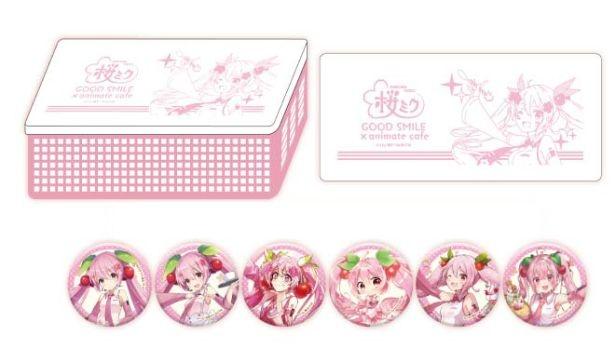 【画像】注文特典の「桜ミク」オリジナルコースター