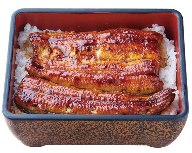 「うな重 竹」(税込 2800円)の味の決め手は、創業以来つぎ足しのタレ / 浜名湖うなぎ 丸浜