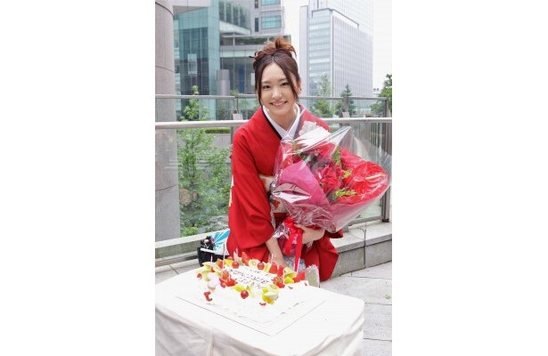 6月13日に初の主演ドラマ「全開ガール」のクランクインを迎えた新垣結衣