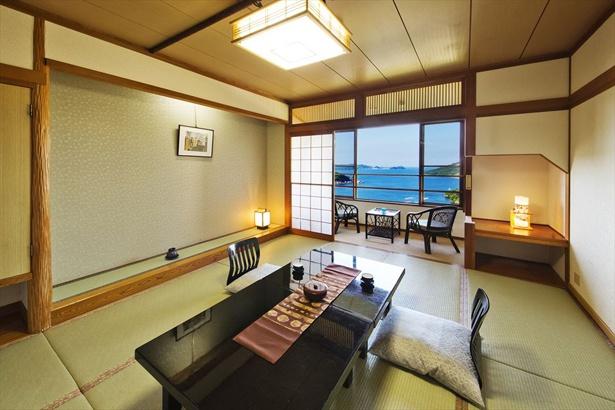 穏やかな色合いで心安らぐ清潔感のある和室