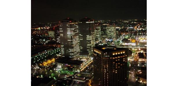 キレイな夜景を独り占めできるのがうれしい