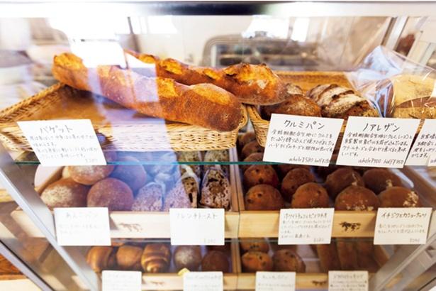 田舎パンを使った日曜限定の「フレンチトースト」(240円)も◎