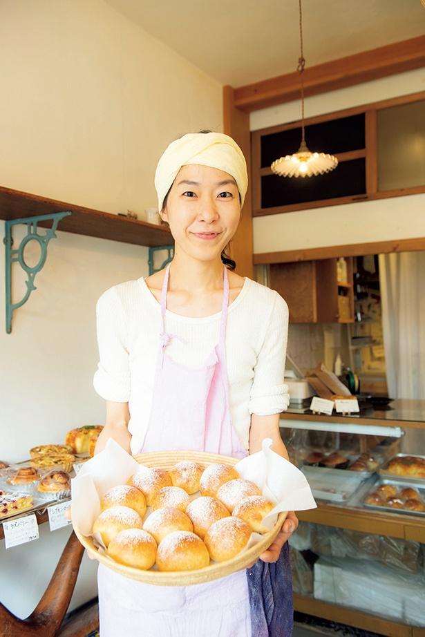 店主の藤本由香利さん「毎日のものだから大切に。そんな思いで焼いています」