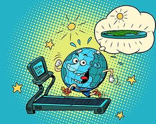 地球の重量は毎年どのように変化している?【親子で楽しむ地球の雑学クイズ第2回】