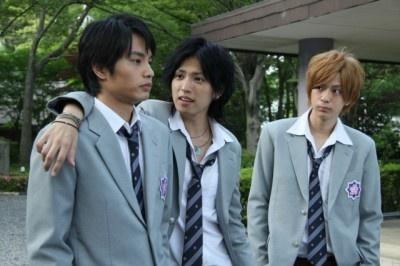 中村、三浦との3ショット (C)Fuji Television Network, inc. All rights reserved.