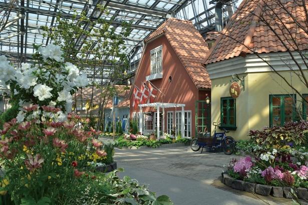 花の大温室フローラルプレイスは、3月14日にリニューアルオープンした / 安城産業文化公園デンパーク