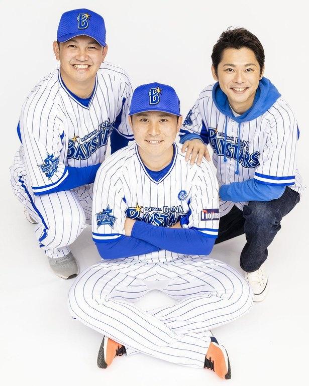 【写真を見る】横浜大洋時代のファームだった平塚球場で、祖父がスコアボードの選手名を書いていたことが縁でファンになったという今井翼さん。聞けば聞くほど熱い思いが伝わってくる