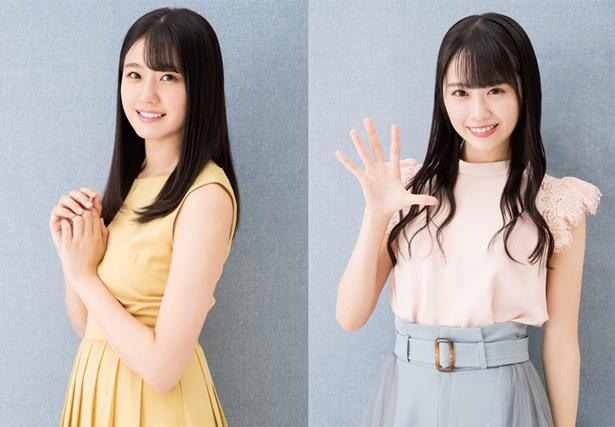 瀧野由美子と、ドラフト3期生の中村舞がペアで登場
