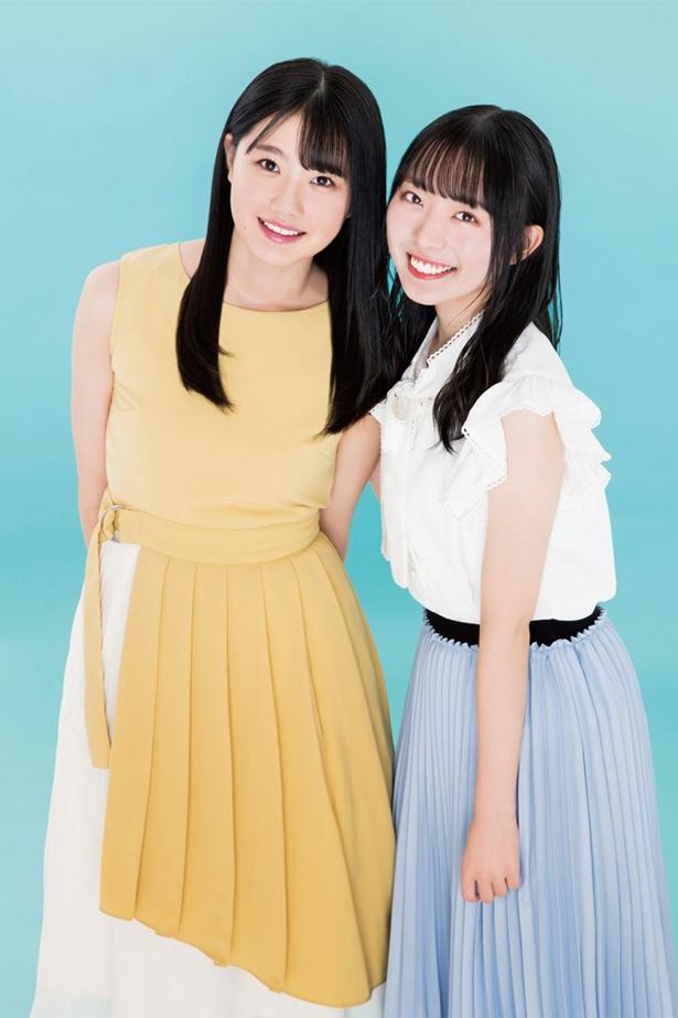 【写真を見る】瀧野由美子とキャプテン・今村美月ペアのポストカード