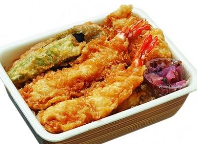 天一「天丼弁当(竹)」(840円)