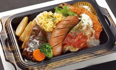 eashion「東京グリル洋食~肉食系~DISH」(890円)/グランスタ・グランスタダイニング