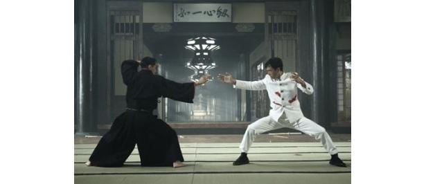 日本軍将校・力石と最後の決戦に挑むチェン・ジェン
