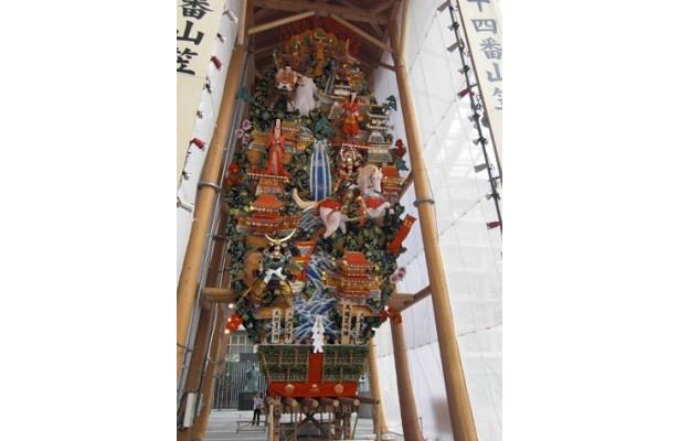 博多駅にある飾り山 表「大阪夏の陣」