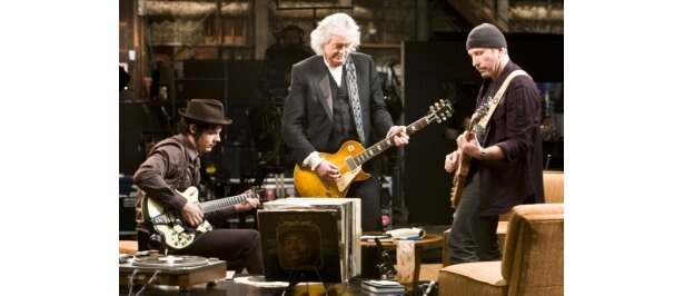 『ゲット・ラウド ジ・エッジ、ジミー・ペイジ、ジャック・ホワイト×ライフ×ギター』は9月9日(金)より公開