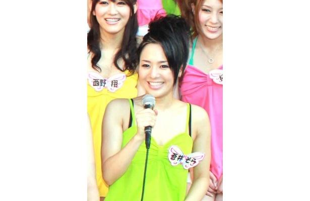 自称(?)アジアのスター・蒼井そらは中国のファンにメッセージを寄せる