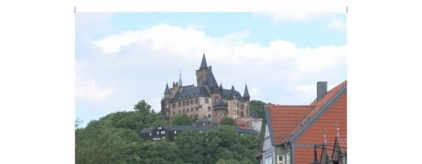 ヴェルニゲローデの最大の見所であるヴェルニゲローデ城