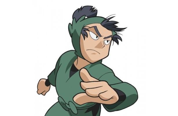【写真】凛々しい眉毛がそっくり!前内演じるアニメの留三郎はこんな感じ