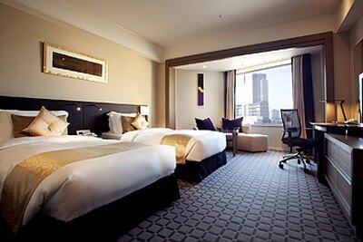 家族で過ごすレジャーはもちろん、ホテルでゆったり滞在するのにも利用しやすい(写真はANAインターコンチネンタルホテル東京 エグゼクティブデラックス・ツイン)