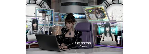 仮想の未来都市を舞台に大島らがデジタルライフをサポート!
