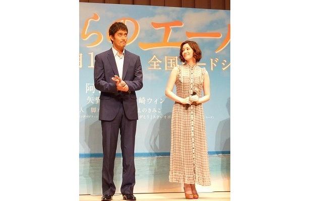 【写真】阿部寛とミムラが演じる年齢差約20歳の夫婦役に注目