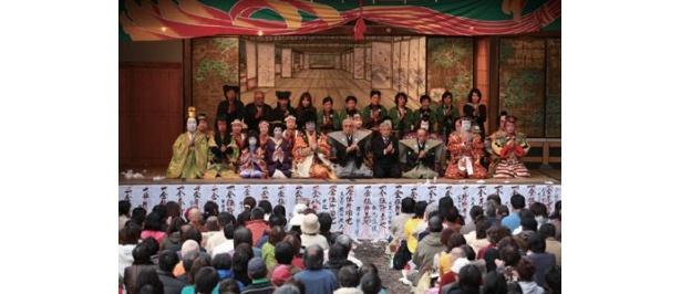 300年以上の歴史を誇る村歌舞伎にも挑戦