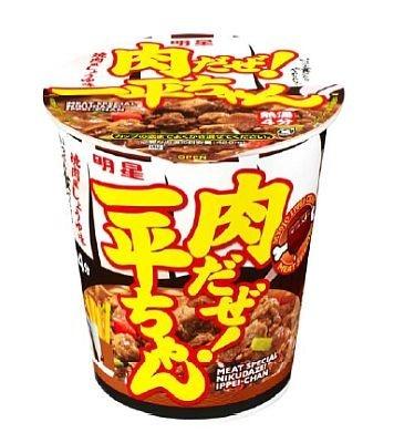 8/1発売の「明星 肉だぜ! 一平ちゃん 焼肉風しょうゆ味」(198円)