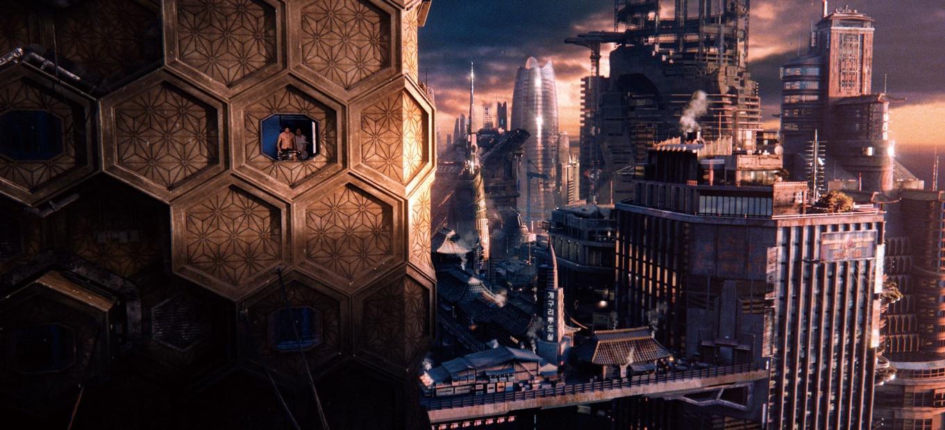 『クラウド アトラス』(12) 『マトリックス』3部作のビジュアルで映像表現を革新させたウォシャウスキー姉妹。本作ではクローンが反乱を起こす2144年と文明崩壊後の2321年を現出させた