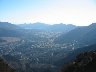 金時山山頂からの眺望