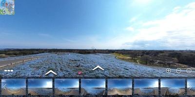 サムネイルから見たい景色を選ぶこともできる