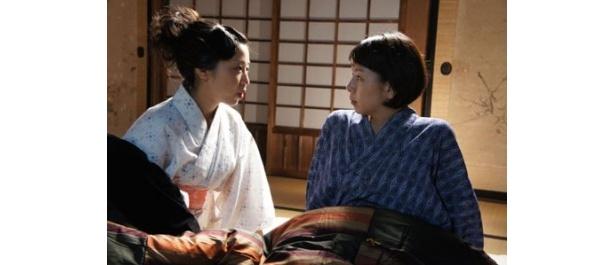 中條百合子と湯浅芳子は深い愛によって結ばれる