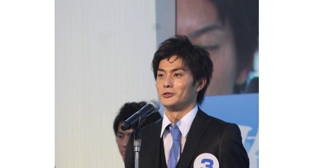 「親と家族に喜びを伝えたい」と語る庄野崎さん