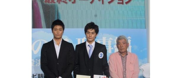 庄野崎さんは永井と共にドラマの成功を誓った