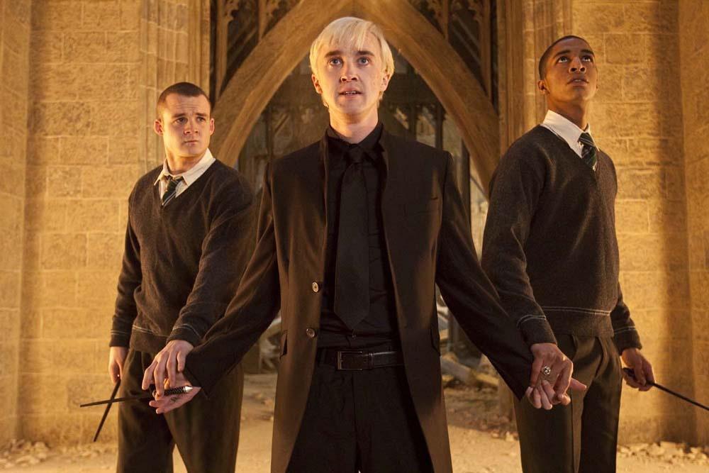 愛すべき悪役ドラコ・マルフォイを演じたトム・フェルトン(『ハリー・ポッターと死の秘宝PART2』)