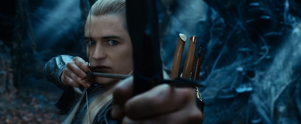 オーランド・ブルームと言えば、弓の名手レゴラス(『ホビット 竜に奪われた王国』)