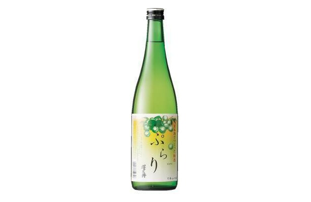 「ぷらり」は梅酒。720ml1334円