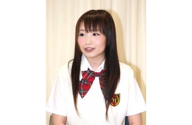 山川は「高校1年生の役なので、幼さが出るように気をつけて演じたい」と明かす