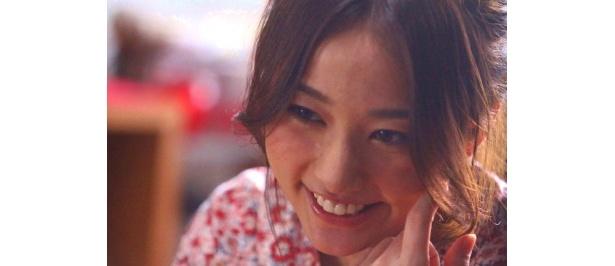 木村文乃が演じるのは、恋人のためにおいしい料理を作るヒロインしおり役