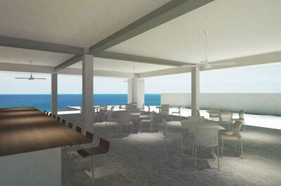 「Stellar Beach Cafe」店内イメージ
