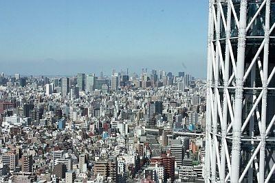 【画像】スカイツリーの奥に富士山も! タワーからの眺望画像