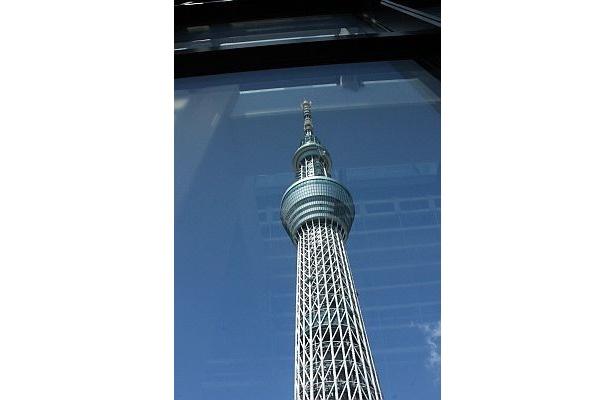 イーストタワーから見上げると大迫力!