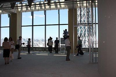 レストランフロアになる予定の31階