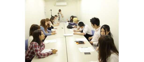 開発会議の風景。CoCo壱番屋本社にて。