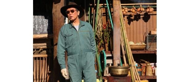 『大鹿村騒動記』で演じたのは、主人公の風祭善役