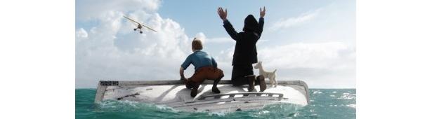 監督スティーヴン・スピルバーグ×製作ピーター・ジャクソンによる『タンタンの冒険 ユニコーン号の秘密』